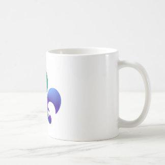Fleur-de-Lis:  Signature Patterns by Naveen Basic White Mug