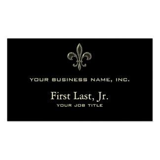 Fleur De Lis - Stripey Pack Of Standard Business Cards
