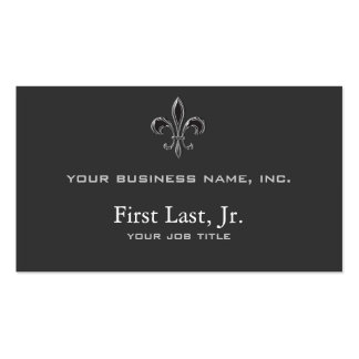 Fleur De Lis - Stripey Pack Of Standard Business Cards