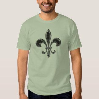 Fleur De Lis - Stripey Tshirts