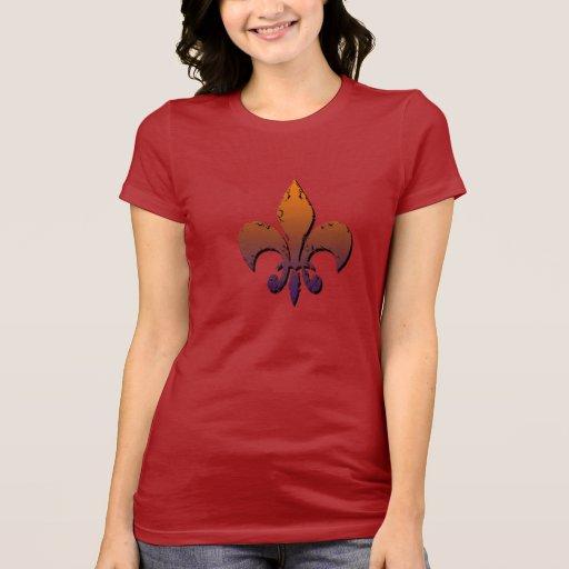 fleur-de-lis tshirt
