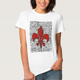 fleur de lis tshirts