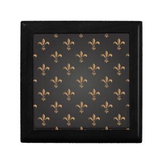 Fleur de lis, vintage,elegant,chic.classy,pattern gift box