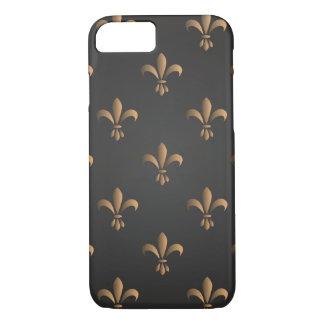 Fleur de lis, vintage,elegant,chic.classy,pattern, iPhone 8/7 case
