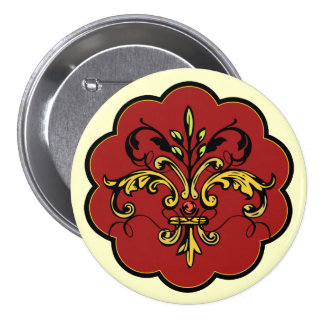 Fleur de lis Xmas Pin