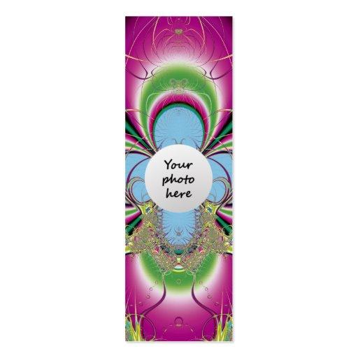 Fleur-de-luce Custom Bookmark Business Card Templates