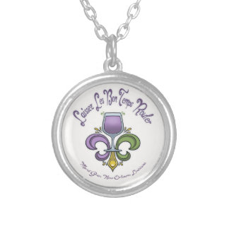 Fleur de Lush Silver Plated Necklace