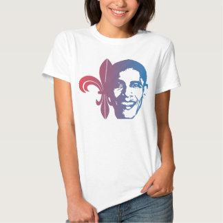 Fleur-de-Obama, red2blue Tee Shirt