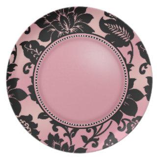 Fleur de Paris   pink Party Plate