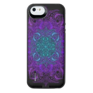 Fleur de Swirl - Choose Your Color! iPhone SE/5/5s Battery Case