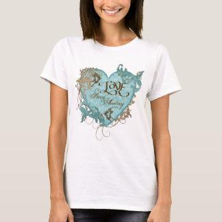 Fleur di Lys Damask T-shirt, Wedding Anniversary T-Shirt