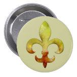 Fleur Faux Stone 4 Button