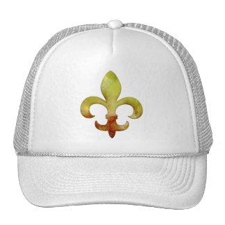 Fleur Faux Stone 4 Mesh Hat