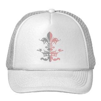 Fleur Heart Crown - Pink Hat