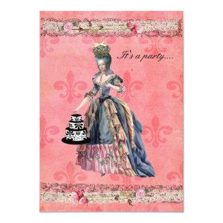 "Fleur Marie Invitation 5"" X 7"" Invitation Card"