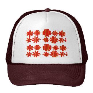 fleur mignonne modèle unique cute flower pattern trucker hat