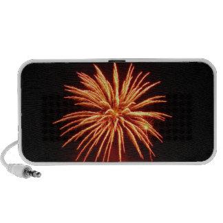 Fleur of fireworks - laptop speaker