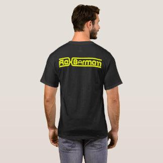 Flex Bormarr Yellow Text Logo T-Shirt