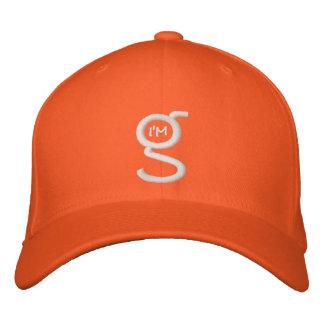 Flex Fit Cap w I'm G Logo Embroidered Baseball Cap