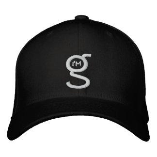 Flex Fit Cap w I'm G Logo Embroidered Baseball Caps