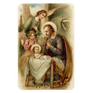 Flexi Magnet: St. Joseph Nativity Rectangular Photo Magnet