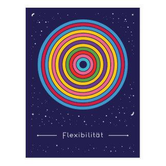 Flexibility Postcard