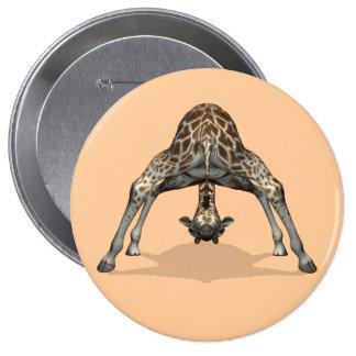 Flexible Giraffe Pinback Buttons