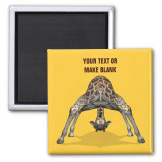 Flexible Giraffe Magnet