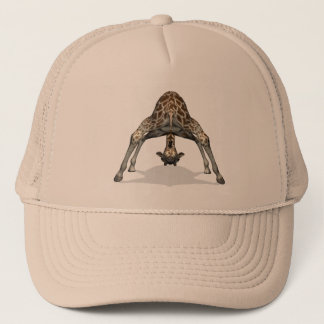 Flexible Giraffe Trucker Hat