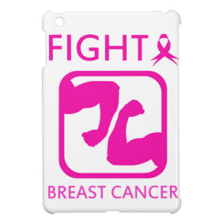 Flexing arms to fight breast cancer iPad mini case