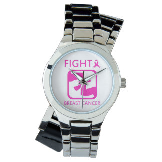 Flexing arms to fight breast cancer watch