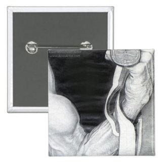 Flexing Medal www AriesArtist com Pins