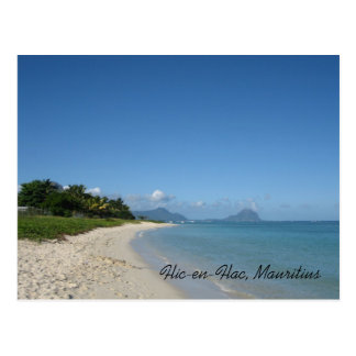 Flic-en-Flac, Mauritius Postcard