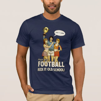 Flick Kick Football T-Shirt