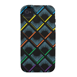 flickers blue Case-Mate iPhone 4 covers