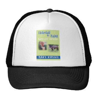 Flickertail & Paint barnyard sleuths cover Trucker Hat