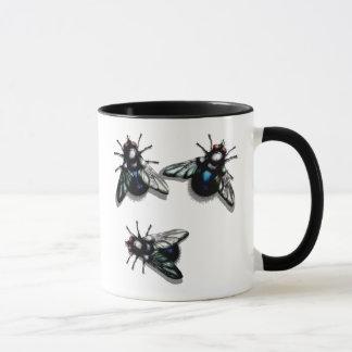 Flies coffee mug