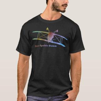 Flies Upside Down Stunt Plane T-Shirt