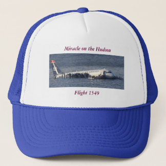 Flight 1549 - Miracle on the Hudson Trucker Hat