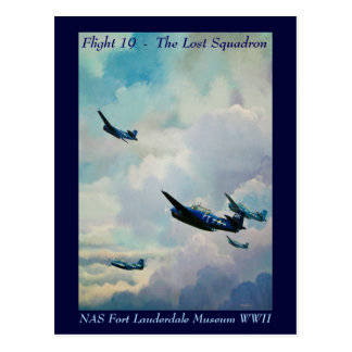 Flight 19 - The Lost Squadron Postcard