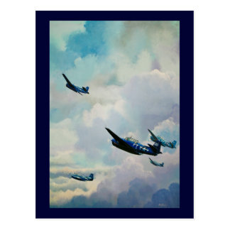 Flight 19 - The Lost Squadron Postcard