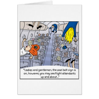 Flight Attendant Card -- Up and About