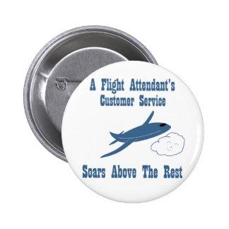 Flight Attendant Customer Service Button