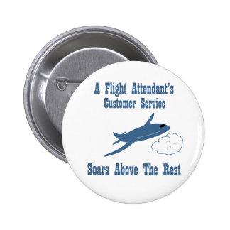 Flight Attendant Customer Service Pins