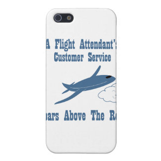 Flight Attendant Customer Service iPhone 5/5S Cover