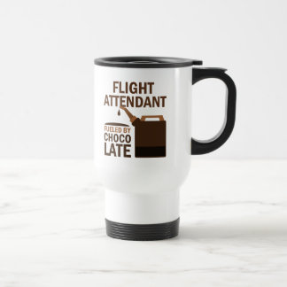 Flight Attendant (Funny) Chocolate Travel Mug