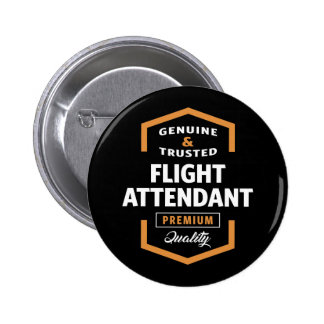 Flight Attendant   Gift Ideas 6 Cm Round Badge