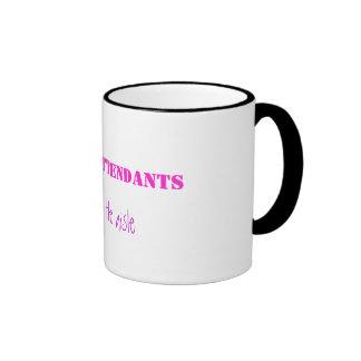 Flight Attendants, do it in the aisle Ringer Mug