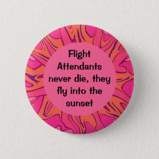 flight attendants funny job pin