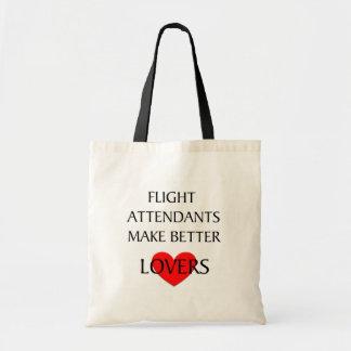 Flight Attendants Make Better Lovers Tote Bags